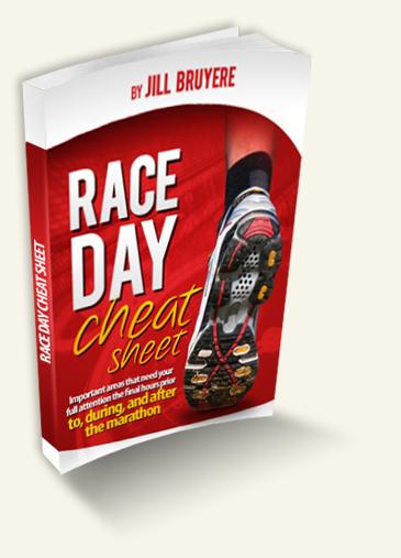 Marathon Race Day Cheat Sheet
